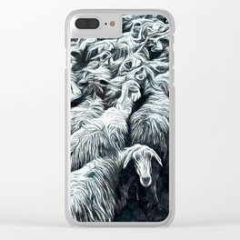 Animaline - Sheeps Clear iPhone Case