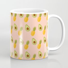 Avocado pineapple mix Coffee Mug