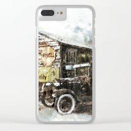 Automobile Arizona Antique Clear iPhone Case