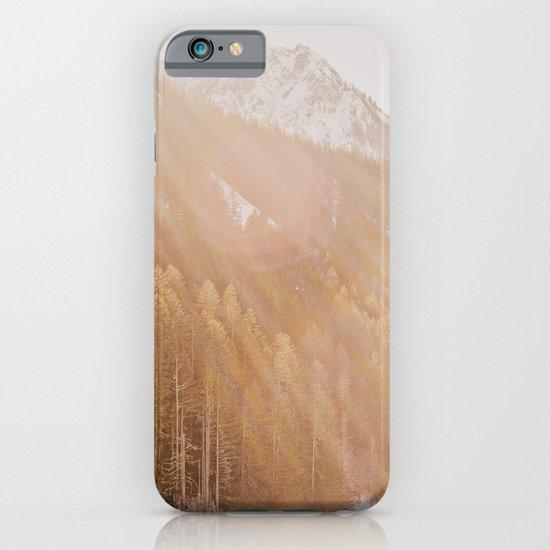 Sun Shining through the Mountains iPhone & iPod Case