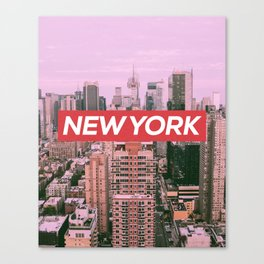 New York City (Vintage Collection) Canvas Print