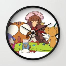Stuffed Animals (variation) Wall Clock