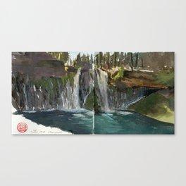 MacArthur Burney Falls Canvas Print
