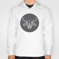 buffalo Hoodies featuring Buffalo by GeeJayTee
