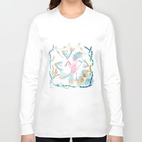mermaid Long Sleeve T-shirts featuring Mermaid by famenxt