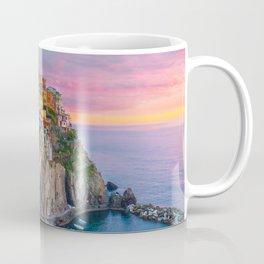 Cinque Terre Travel Poster Coffee Mug