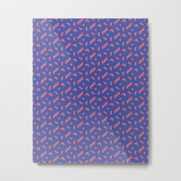 Memphis pattern Metal Print