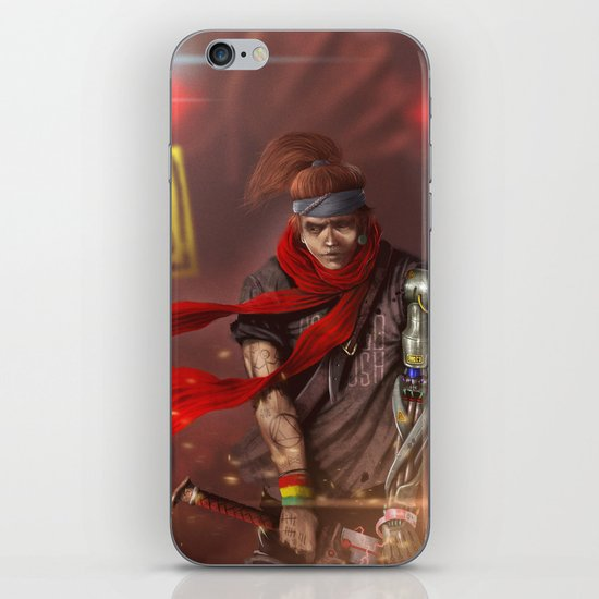 Fear Is Not An Option iPhone & iPod Skin