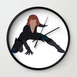 I Am a Black Widow Wall Clock