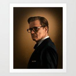 Kingsman: Harry Hart Art Print