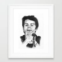 stiles Framed Art Prints featuring Stiles by LilKure