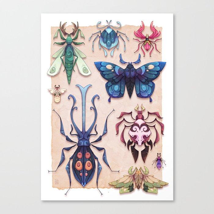 Otherworldly Entomology Canvas Print