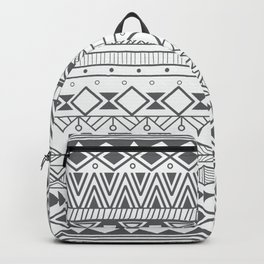 Aztec pattern 004 Backpack