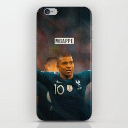 Kylian Mbappe iPhone Skin