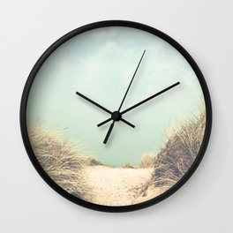 The Way To The Beach Wall Clock