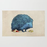 sonic Area & Throw Rugs featuring Sonic by Eric Fan