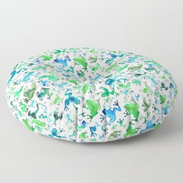 Tree Frogs Floor Pillow