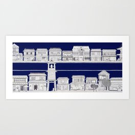 KOEDO (Kawagoe) Art Print