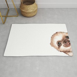 Sneaky Baby Sloth Rug