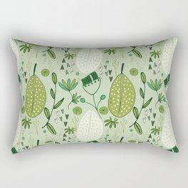 Emerald Forest Light Green #homedecor Rectangular Pillow