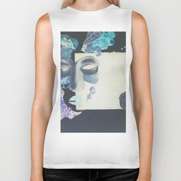 portrait: people have sides & sometimes we hide them Biker Tank