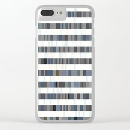 Bach Invention (Shades of Grey) Clear iPhone Case