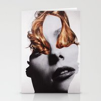 noir Stationery Cards featuring NOIR by Luca Mainini