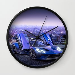 Ford GT Wall Clock