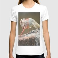 chameleon T-shirts featuring Chameleon  by Four Hands Art