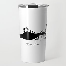Gina Diva Leisure Queen Line-art Travel Mug