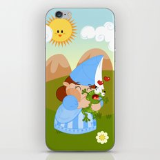 kissing the enchanted frog iPhone & iPod Skin