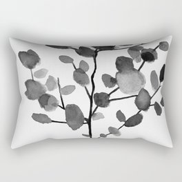 Watercolor Leaves II Rectangular Pillow