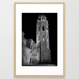 La Seu Vella Framed Art Print