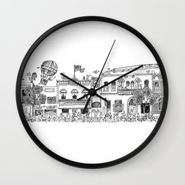 Main Street Wall Clock