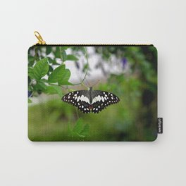 Butterfly Small Carry-All Pouch