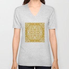 Festive Gold #society6 #pattern Unisex V-Neck