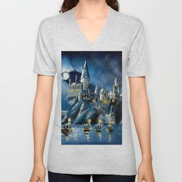 Moonlit Magic Unisex V-Neck