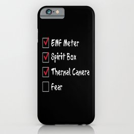 Paranormal Gear Ghost Hunt iPhone Case