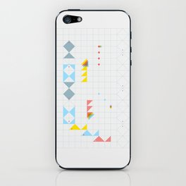 triangle fish iPhone Skin