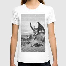 Lucifer, the fallen angel - Gustave Dore T-shirt