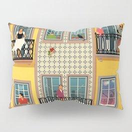 Porto Houses - Portugal Pillow Sham