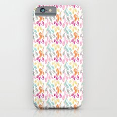 Smaller Colorful Swirls iPhone 6s Slim Case