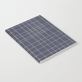 Charcoal Grid Notebook