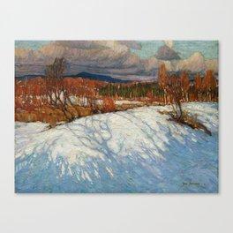 Tom Thomson In Algonquin Park Canvas Print