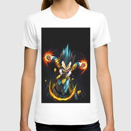 vegeta the war T-shirt
