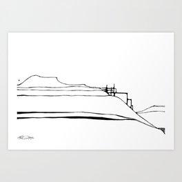 Landscape 071812 Art Print