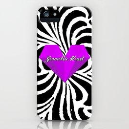 GEOMETRIC HEART® - Purple Special Edition -  iPhone Case