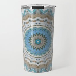Dreamcatcher Teal Travel Mug