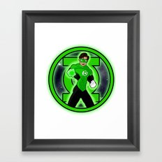 Go Green! Framed Art Print