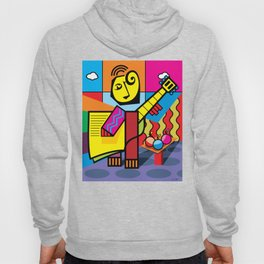 The musician and fruits Hoody